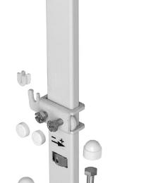 Radiatorių tvirtinimas Rofix UNISTAND, tinka H300-900 radiatoriams (40004393)