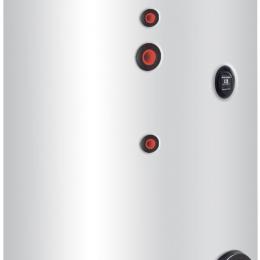 Karšto vandens šildytuvas Cordivari BOLLY 2 AP su dviem gyvatukais, 300 l, šilumokaičų plotas 1,4 ir 0,9 m²