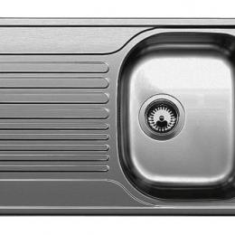 Plautuvė BLANCOTIPO 45S Compact, 780x500, nerūdijantis plienas, matinė