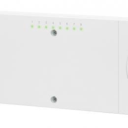 Icon™ 230V grindų šildymo valdiklis, 8/14 zonų su šaldymo ir temperatūros pažeminimo išvykus funkc.(pakeista į 088U1040)