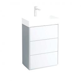 LIVING SQUARE Pastatoma spintelė, 582 x 432 mm, su 3 stalčiais, praustuvui 811434
