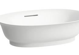 THE NEW CLASSIC praustuvas-dubuo 55 x 38 x 14,5 cm, su perlaja