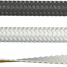 Balta lipni sandarinimo juosta SILCAVER 55, 10 mm pločio, 2  mm storio (po 50 m)