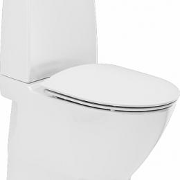 Inspira Art Rimfree®  kombinuotas unitazas, vertikalus, klijuojamas, 2/4 ltr. Fresh WC funkcija