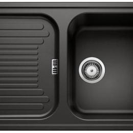 Plautuvė BLANCO Classic 45S, 780x510 mm, juoda spalva