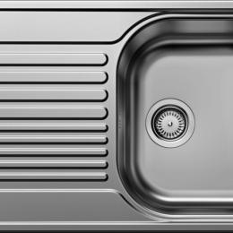 Plautuvė BLANCOTIPO 45S Compact, 780x500 mm, plieninė, linijinio paviršiaus