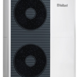 aroTHERM VWL 125/5 AS 400V - 11 kW, COP 4,6 Lauko blokas jungiamas su VWL 127/5 IS arba VWL 128/5 IS