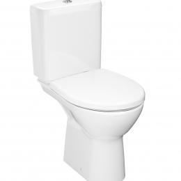 Kombinuotas unitazas LYRAplus RIMLESS horizontaliu nuotaku, Dual Flush 4,5/3ltr., vandens įvadas apačioje