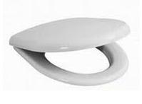 Antibakterinė sėdynė su dangčiu Deep/ LYRA BALTIC, Slowclose, plastikiniai lankstai