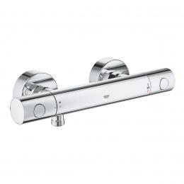 Grohtherm 800 Cosmopolitan termostatinis maišytuvas dušui (metal rankenėlės) chromas