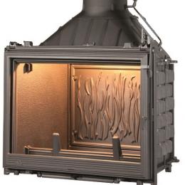 Ketinis židinio ugniakuras Seguin Kiteflam DESIGN Efekt, dv. degimo sistema