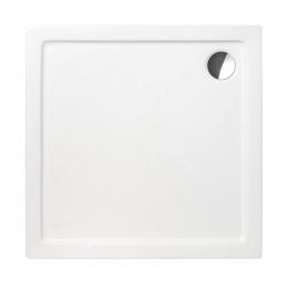 Akrilinis dušo padėklas Flat Kvadro 900x900x50 mm, balta