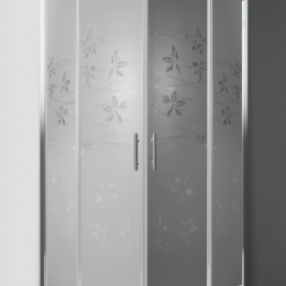 Dušo kabina Flower Neo 900x900