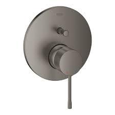 Potinkinio dušo maišytuvo Essence New virštinkinė dalis,brushed hard graphite