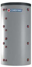 Akumuliacinė talpa PUFFER 2000 ltr, VC tipo su ErP izoliacija 100 mm