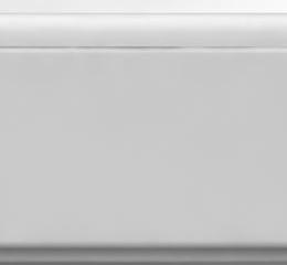 Akmens masės vonios Londra 1700x765 mm U formos uždanga, balta