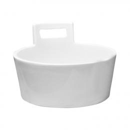 Praustuvas-dubuo ART Džber (Tub) 410 mm, su neuždaromu d.v., baltu keramikiniu dangt., baltas