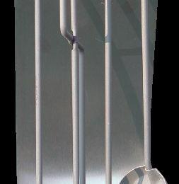 4-ių įrank. židinio komp., sienelė be rankenos