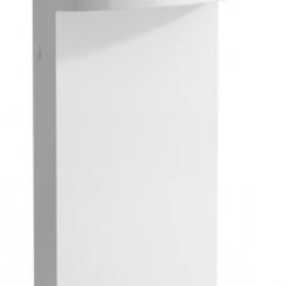 Prie sienos pastatomas praustuvas Sonar 410x380x900mm