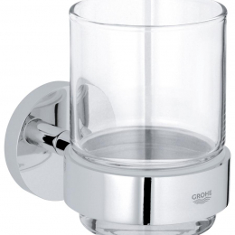 ESSENTIALS stiklinė su laikikl., (stiklas)