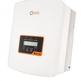 Inverteris Solis Mini 4G 0,7 kW vienfazis, vienas MPP žiedas, 96,5% efektyvumas