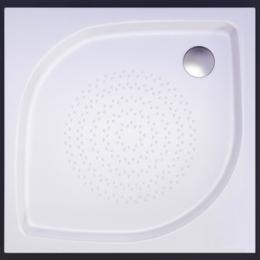 Akmens masės dušo padėklas KK-90, 90x90 cm, kvadratinis, baltas