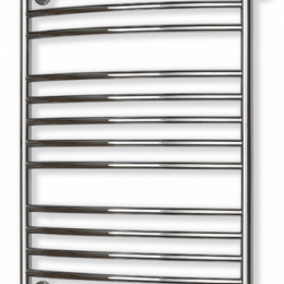 Žalvarinis rankšluosčių džiovintuvas EŽ 1550 KL, 87x50, chromas