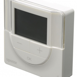 Uponor Smatrix Wave termostatas prog.+ + drėg. d. T-168 baltas