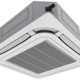 Kasetinė split tipo inverter oro kondicionieriaus U-Match vidinė dalis 7,0/8,0 kW, (grotelės TF06), R32