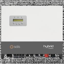 Hibridinis inverteris Solis 6 kW trifazis, 2 MPP žiedai, 97,7% efektyvumas