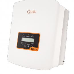 Inverteris Solis Mini 4G 1,5 kW vienfazis, vienas MPP žiedas, 96,5% efektyvumas