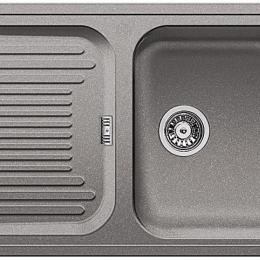 Plautuvė BLANCO Classic 45S, 780x510 mm, aliuminio metalinė spalva