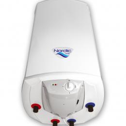 """Kombinuotas greitaeigis vand. šildytuvas Elektromet NORDIC COMBI 2000 140L (""""sausas"""" 2x1,2kW), su mech. valdymu"""