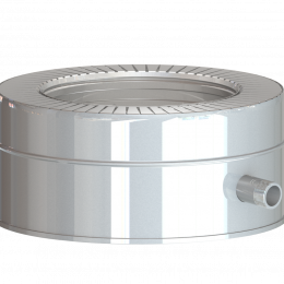 Dvisienis šoninis kondensato rinktuvas NPNP (S-0.8mm) d.130/230