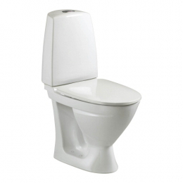Kombinuotas unitazas SIGN, horizontalus, 2/4 ltr. Fresh WC funkcija (*gamyba iki2019`12.30))
