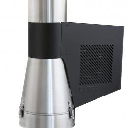 Slėgio generatorius GCKV150-CH-B-K, įleidžiamas į kaminą