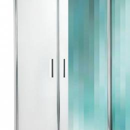 Dušo kabina TR1/1000, stiklas skaidrus, profilis blizgus