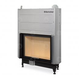 Plieninis židinio ugniakuras Romotop su pakel. durimis 88.66.01.