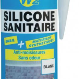 """Sanitarinis silikonas """"GEBSICONE W2 BLANC"""" 310ml. (baltas) (892200)"""
