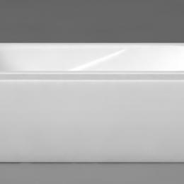 Akmens masės vonia Classica 1800x750 mm, balta