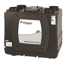 Rekuperatorius TITON HRV10.25 Q Plus BC Eco kairinis 505m3/h@100Pa