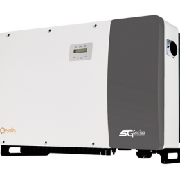 Inverteris Solis 80 kW trifazis, devyni MPP žiedai, 98,3% efektyvumas