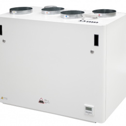 Rekuperatorius ENSY AHU-700BV/1, vertikalus, kairės p., 840m³/h su integr. valdymu
