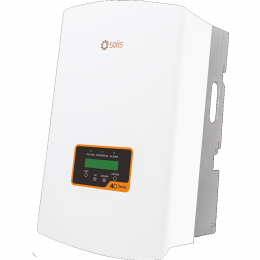Inverteris Solis 3P 4G 5 kW trifazis, du MPP žiedai, 97,8% efektyvumas