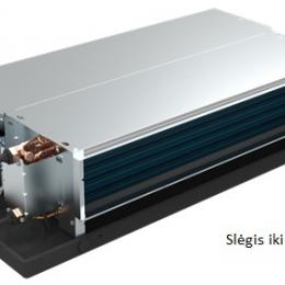 Ortakinis fankoilas, 2 eilių (vėsinimui ir šildymui) 1.85/3.05 kW