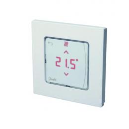 Icon™ su displėjumi, įleidžiamas į sieną patalpos termostatas 230V/50Hz, temp. ribos 5-35C, 3A/230V AC
