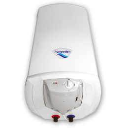 Vertikalus elektrinis vandens šildytuvas Elektromet Nordic Aqua; 100l