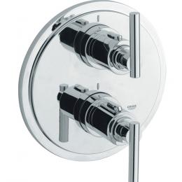Potinkinio termostatinio vonios/dušo maišytuvo ATRIO virštinkinė dalis, chromas