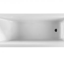 CUBITO vonia 180 × 80cm, be kojelių, balta