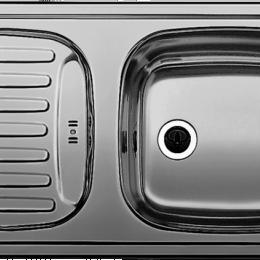 Plautuvė BLANCO FLEX MINI, 780x435 mm, nerūdijantis plienas, linijinis paviršius